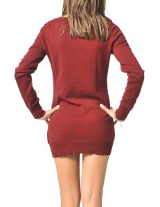 2013 Oxblood Color Trend - tops-blouses-manhattan-fine-knit-sweater-cranberry